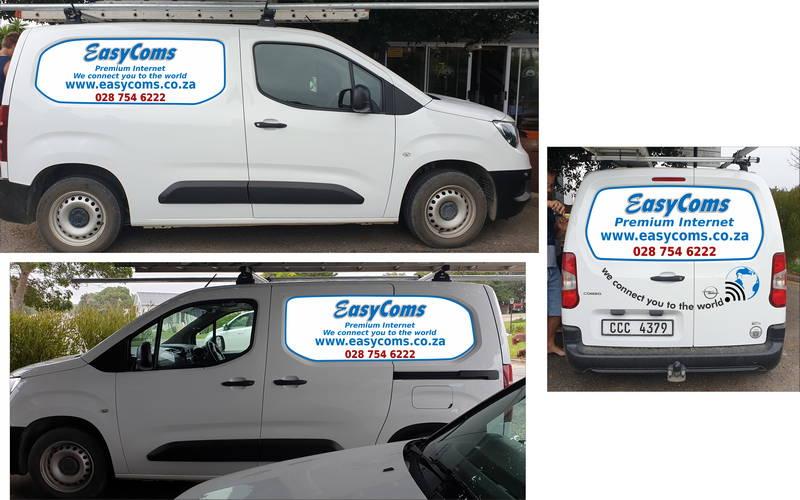 EasyComs Van